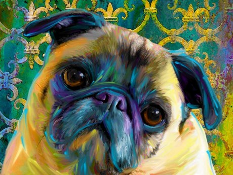 Prada: Digital Pet Portrait