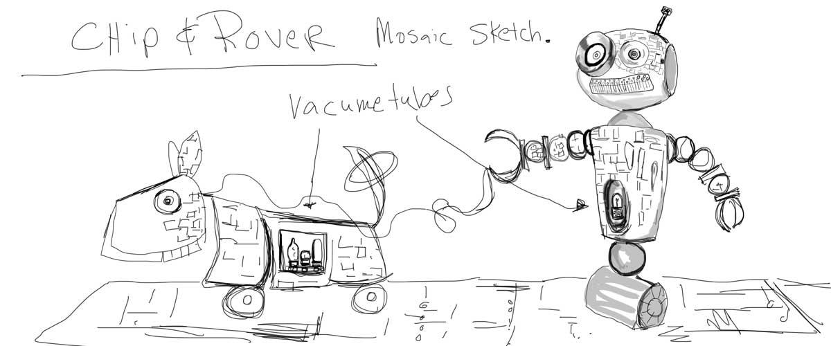 chip  u0026 rover sketch
